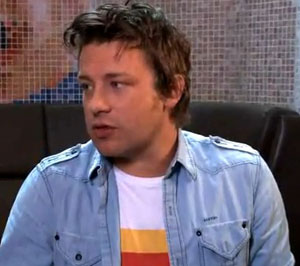 Jamie Oliver attacks the coalition for lack of support