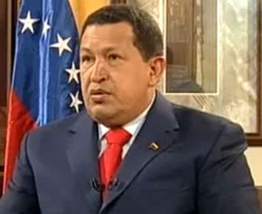 President of Venezuela Hugo Chavez suffers lung infection