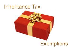 Inheritance tax exemptions