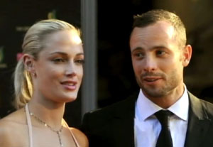 Oscar Pistorius arrives in court for bail hearing