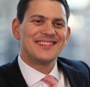 David Miliband set for charity work in America