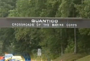 Three marines, including gunman, dead in shooting at Quantico base