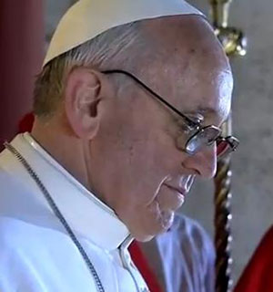 Argentinian Archbishop starts his first day as new pope
