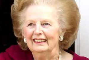 Baroness Thatcher dies of a stroke at 87