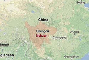 Troops help following China's Sichuan earthquake