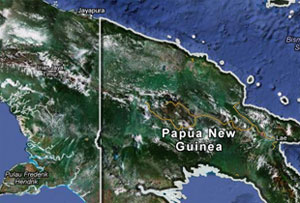 6.8 magnitude earthquake shakes Papua New Guinea