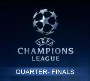 More Fun for Football Fans: Champions League Quarter Finals