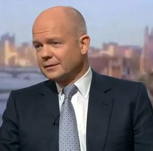 North Korea is just bluffing, says William Hague