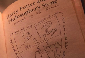 Potter book with Rowling's annotations sells for £150k
