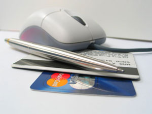 Online shopping and credit cards