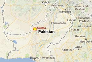Bomb kills 12 people in Pakistan