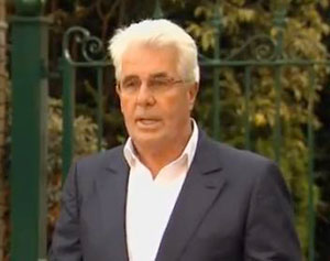 Max Clifford pleads not guilty in court