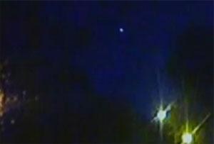 Meteor seen in UK night sky
