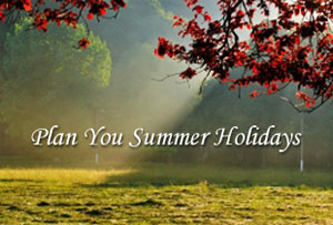 5 things to remember: planning your summer holiday
