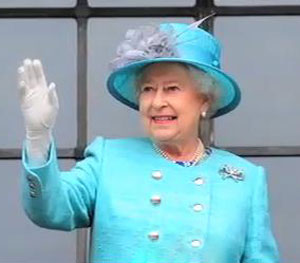 Man charged over defaced Queen portrait