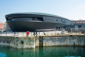 New Mary Rose museum in Portsmouth