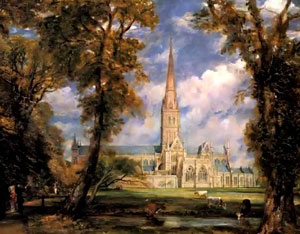 Constable's Salisbury Cathedral bought by Tate