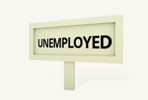 Unemployed – savings and government assistance