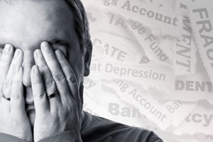 Financial trouble can cause extreme anxiety