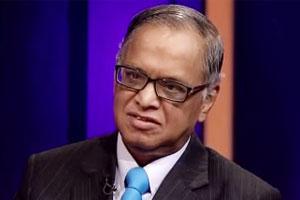 Infosys shares jump as Narayana Murthy returns