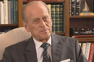 Prince Philip back in action after surgery