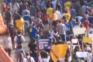 Protests break out in Brazil
