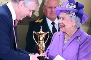 Queen's Horse wins the gold cup