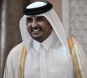 Qatari emir Sheikh Hamad hands power to son Tamim
