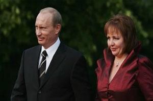 Vladimir Putin confirmed divorce with wife