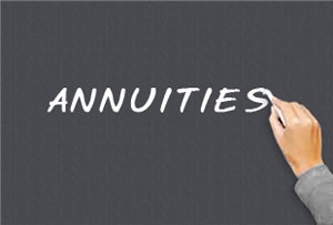 Simple way to calculate annuity payments