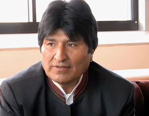 Bolivian president's jet rerouted on Snowden fear