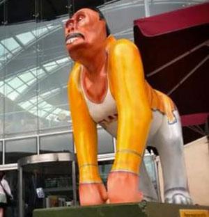 Freddie Mercury gorilla statue removed in Norwich