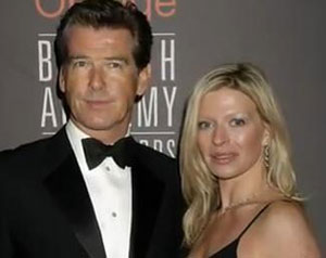 Pierce Brosnan's daughter dies of ovarian cancer at 42