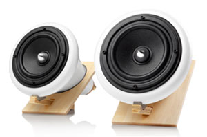 Joey Roth ceramic speaker system