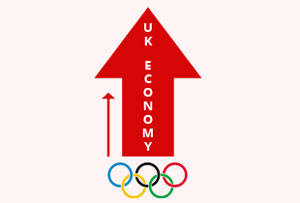 The witness of a huge boost in UK economy due to olympics hosting