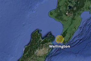 Wellington in New Zealand hit by 6.5 magnitude quake