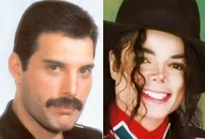 Michael Jackson, Freddie Mercury duets to be released