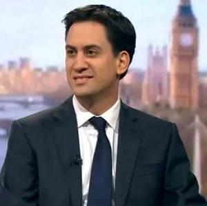 Ed Miliband has been egged