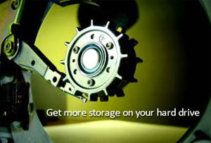 Get more storage on your hard drive
