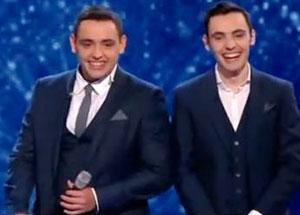 Britain's Got Talent Brothers debut No. 1 album