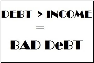 Are You Facing New Debt Problems A13014 on starting a business with no money