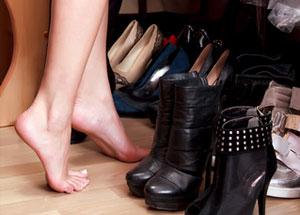 clinton shoe fetish
