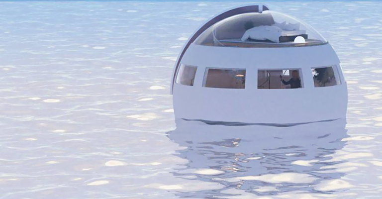 Floating Hotel Room