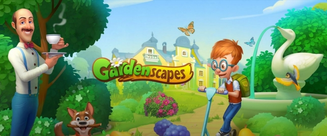 Gardenscapes Now Available in Browser