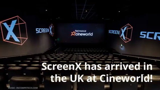 270 Degree Cinema Screen in Leeds