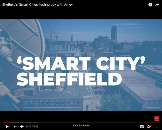 Sheffield Will Become Smart City