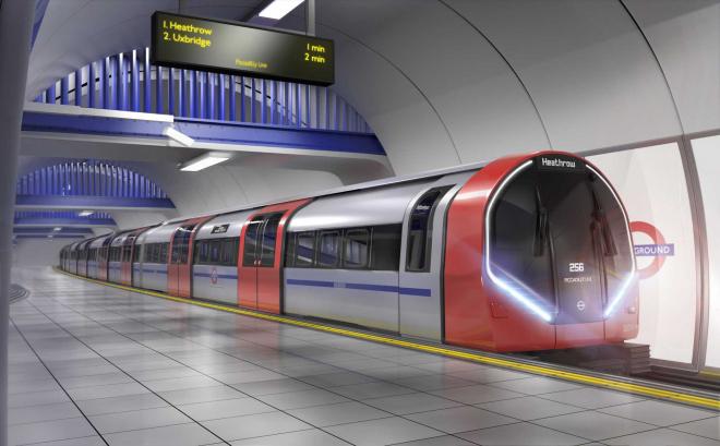 Fast Broadband in London's Tube