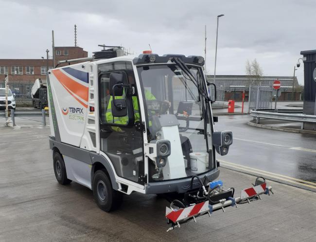 Cheshire Zero Emissions Street Cleaning Machines