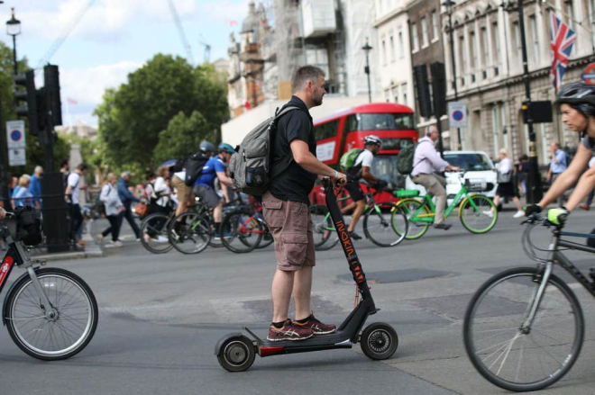 E-Scooters for Brits
