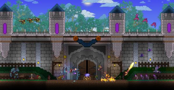 Terraria's Biggest, And Last Update A Huge Success